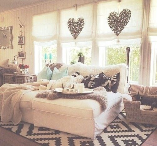 Room Bed And Cozy Image On We Heart It