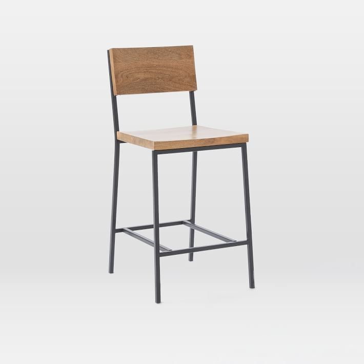 Bar Stools For Kitchen Island Without Hanging Counter