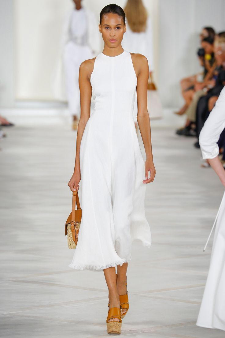 Cindy Bruna - Ralph Lauren - Spring 2016 Ready-to-Wear