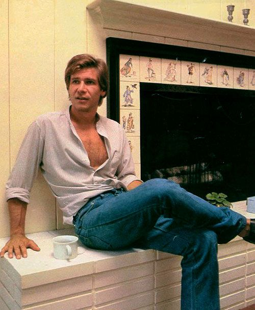 "I ""searched"" ""Harrison Ford"" on pinterest and ""liked"" every different picture that came up. Can you say, ""crush""? lol"