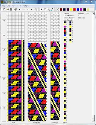 Free Crochet Bead Pattern Round 12
