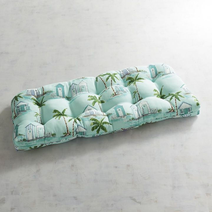 Pier 1 Imports Standard Contour Settee Cushion in By The Sea
