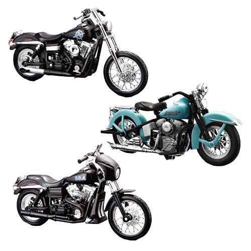 Sons of Anarchy 1:18 Scale Die-Cast Motorcycle Ser. 2 Set $24.99