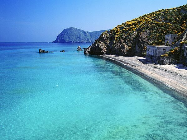 Spiagge Bianche Lipari, Eolie, Sicily - Italy