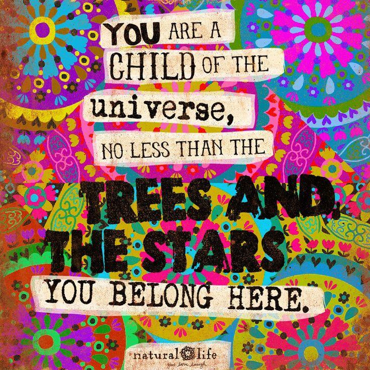 You belong here! #naturallife #livehappy