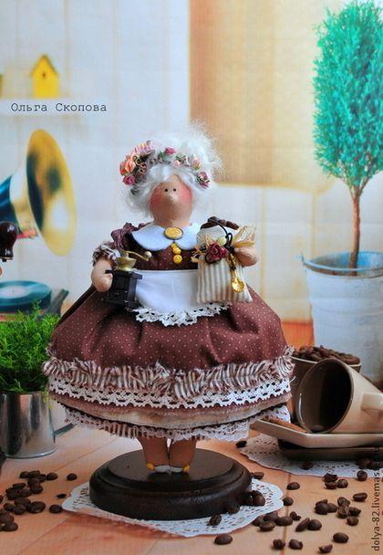 Tilda muñecas hechas a mano.  Decoracion-Fatty elegante cocina-regalo original) .. oscilación Olga Skopová = = alas.  Tienda Online Feria Maestros.