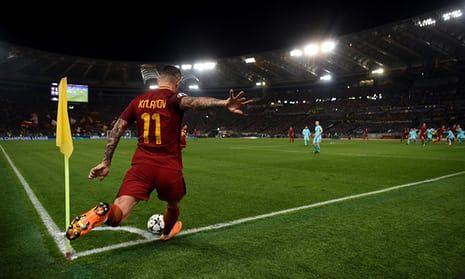 Aleksandar Kolarov's set pieces are a threat for Roma, as is the full-back's energy