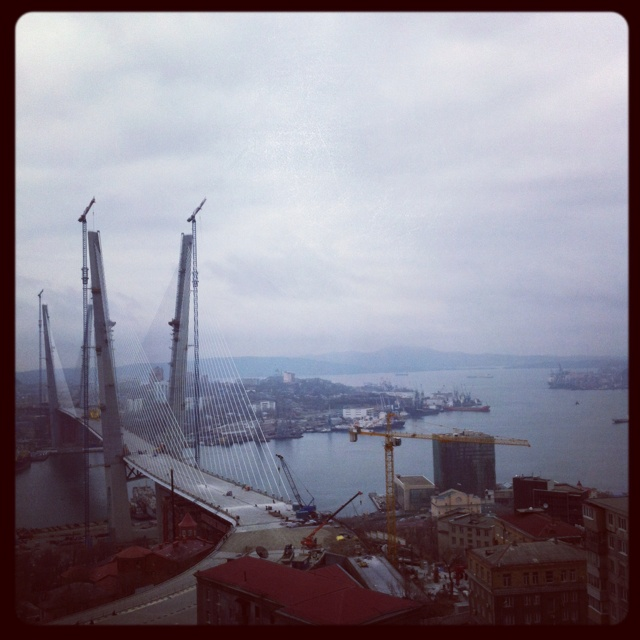 Vladivostok, Russia: The Cities, Beautiful Scenes, Bridges Wasnt