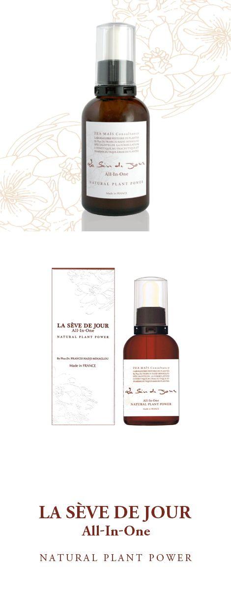 スキンケアはもっとシンプルにできる LA SÈVE DE JOUR(ラ セーブ ド ジュール)   香りの町として名高い南フランス・グラースのハーブ薬局にて、 一日60人以上ものハーブ調剤を精力的に行うフランシス・アジミナグロウ博士の 経験と知恵を結集し、25年の歳月をかけて生み出した美容液。