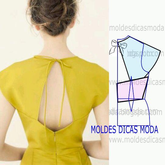 modelagem de costas