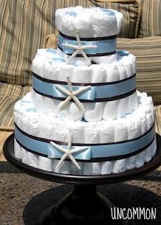 Diaper cake babyshower