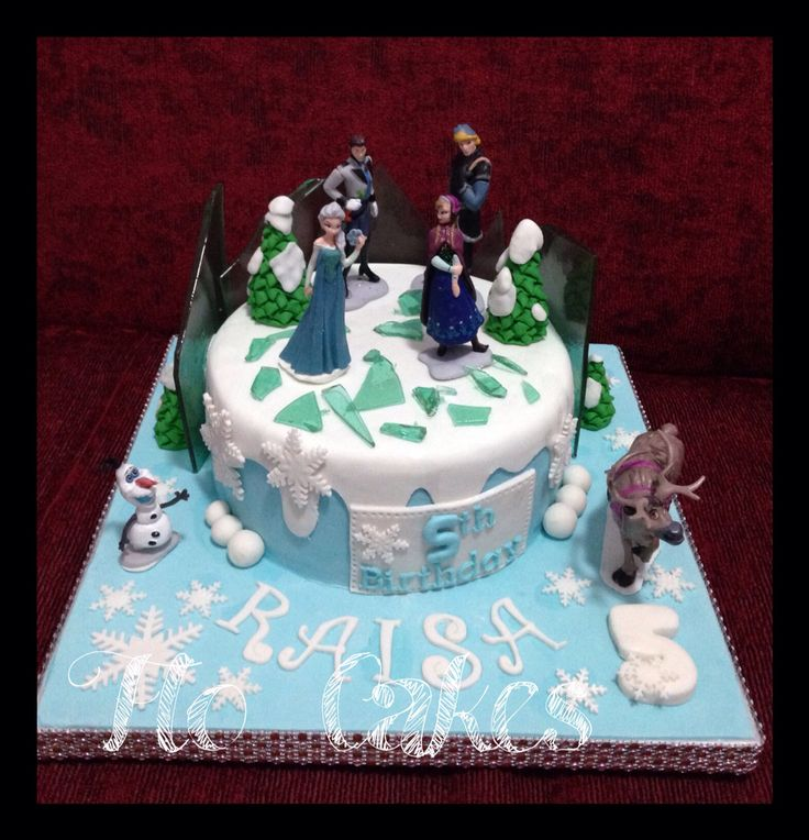 Frozen 4 cake
