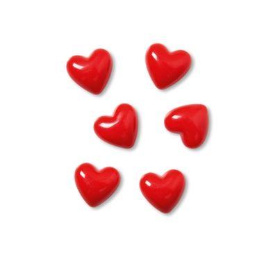 Blijft je liefde niet plakken? Deze magnetische hartjes wel! Per verpakking krijg je er 6.