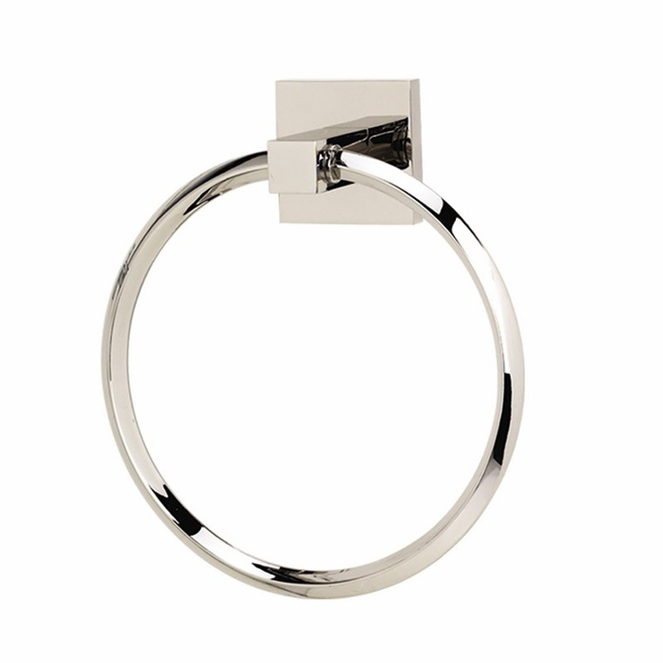 Alno A8440 Contemporary Towel Ring - Fixture Universe