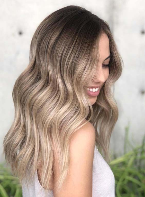 33 eye-catching ideas for the hair color Sandy Blonde in 2018