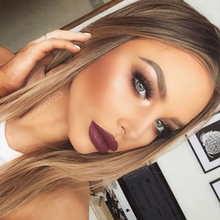 I love the eyes, cheecks, and lip color, BUT to much makeup to wear all at one time, the lip color with a simple eye would work, the dramatic eyes with a nude lip would work and the cheecks for a natural clean face look