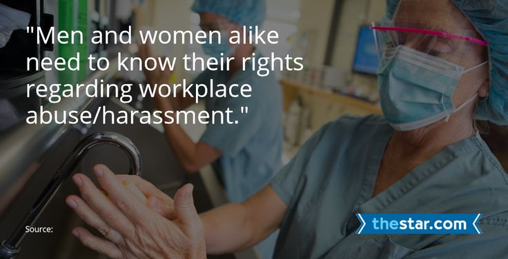 It's important to draw the line on workplace abuse and have zero tolerance when that line is crossed.