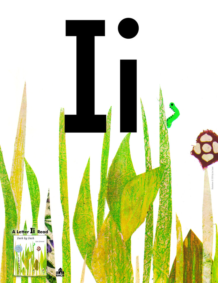 Letter Ii Card - print out and use to start a bulletin board display or letter collage. An Incredible Letter Ii read is INCH BY INCH.