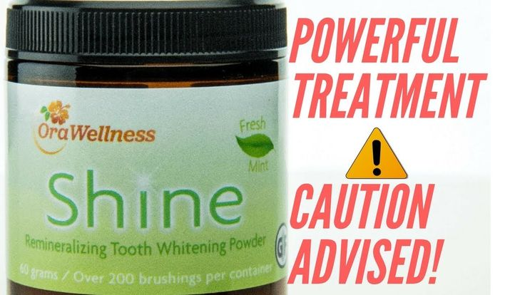 Not So SHOCKING reason why Shine Is The Best Teeth Whitening Powder On T...