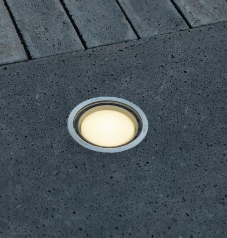 in ground lights