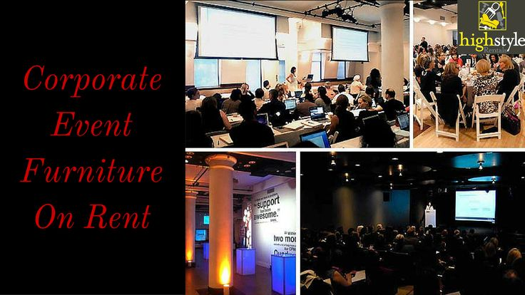Choose designer & affordable event furniture for corporate meetings on rental only at HIGH STYLE RENTALS in NYC. We offer variety of furniture from wedding, birthday parties, fundraisers & tradeshows with all the other necessary party accessories.