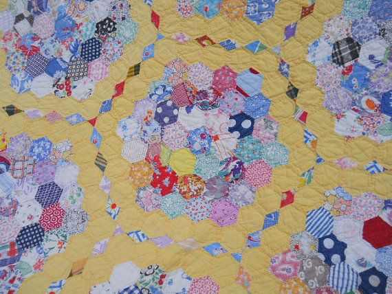 17 best images about english paper piecing patterns on pinterest english passion flower and for Grandmother flower garden quilt pattern variations