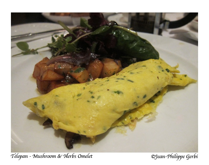 Mushrooms and herbs omelet | The Food I Eat! | Pinterest