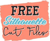 SO many cute ideas here!  FREE Silhouette Cut Files at WhereTheSmilesHaveBeen.com!