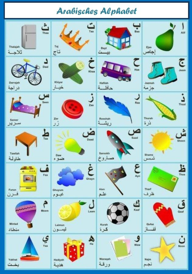 how to learn basic arabic language