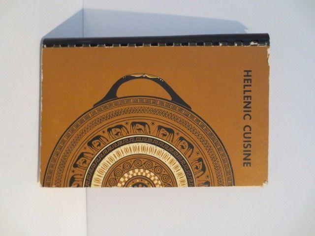 Hellenic Cuisine Cookbook by St Helen Philoptochos STS Constantine PTA Greek | eBay
