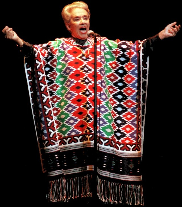 Chavela Vargas, beautiful colors. *Tica by blood but Mexican by <3