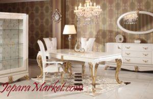 meja makan family elegan moderen