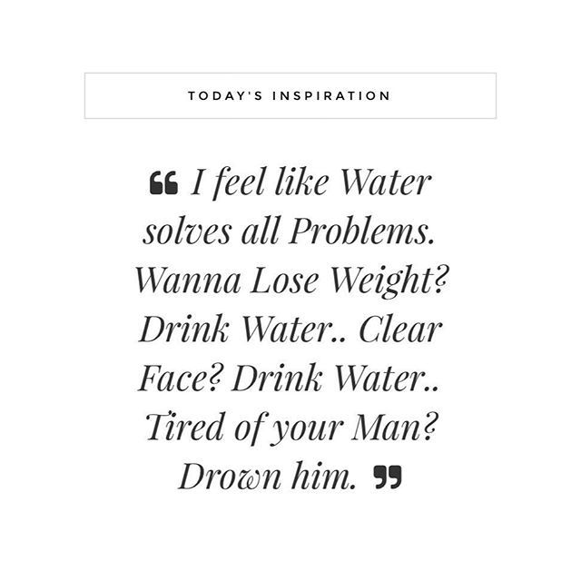 F A C T  It's true that when you fuel good, you feel good but even the smallest of changes can make the biggest of differences! Drinking water is one of the easiest changes that will make such a huge difference to your skin, body & mind, if you hate water flavour it with fruit, add chia seeds or mint & lemon, aim to drink 1litre & then push to 2litres, i promise it's worth it!  Ps: did you see last nights new video? I put the link in my IG stories so you can click straight through! Tag y...