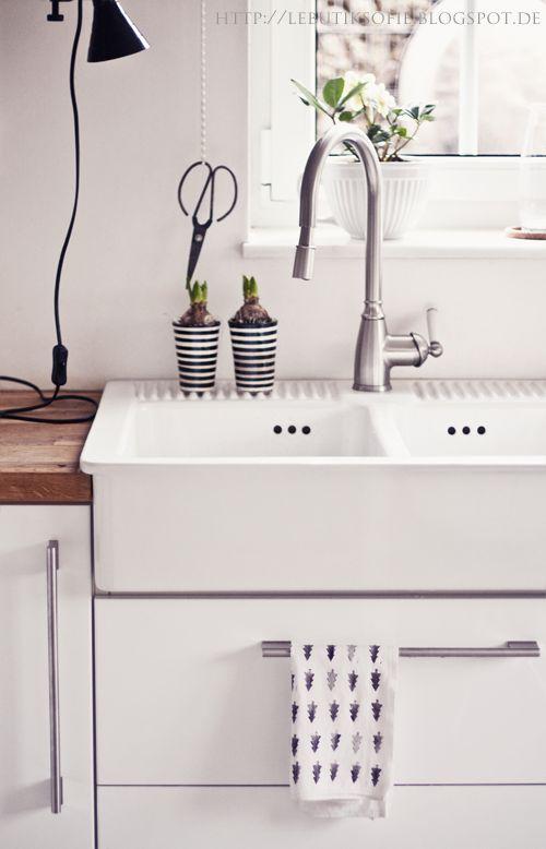 Die 25+ besten Spülbecken keramik Ideen auf Pinterest ... | {Waschbecken küche keramik 63}