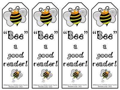Classroom Freebies Too: Bee a Good Reader