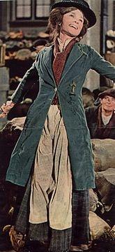"Audrey as Eliza Doolittle in ""My Fair Lady"" (1964)"
