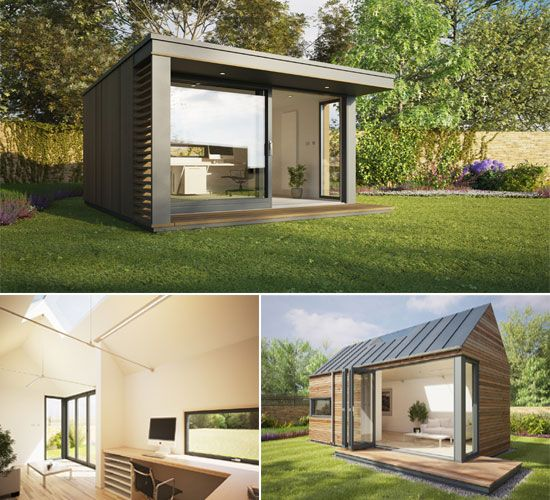 Work in complete tranquility with Pod Space home-garden offices - Bornrich