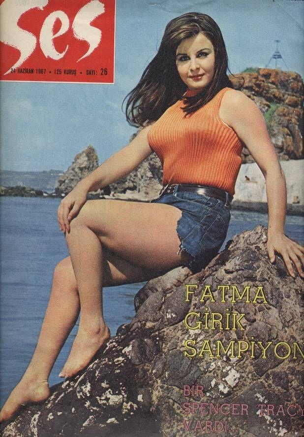 Fatma Girik, Ses magazine, Turkey, 24 June 1967.