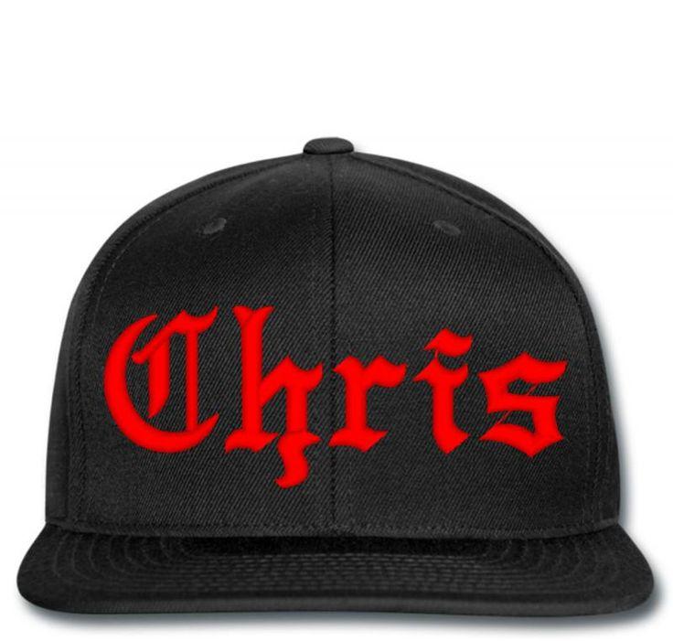chris name Snapback