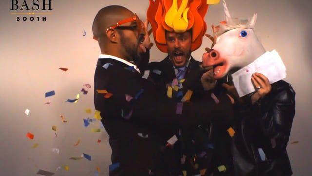 Salem Season 3 Wrap Party | Bash Booth Slow Motion Video