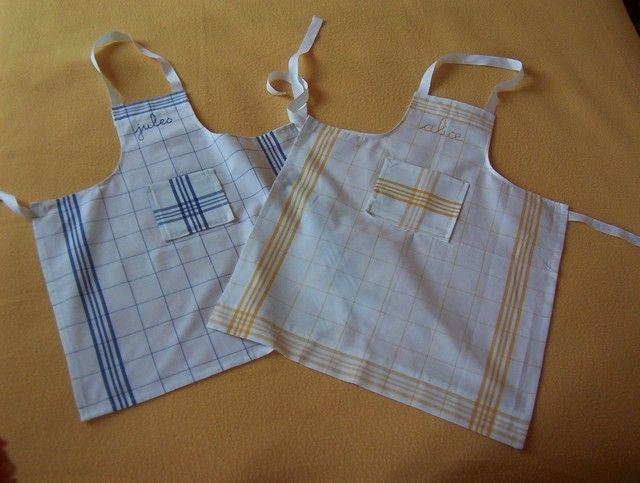 Les 71 meilleures images propos de couture sur pinterest for Tablier de cuisine pour petite fille