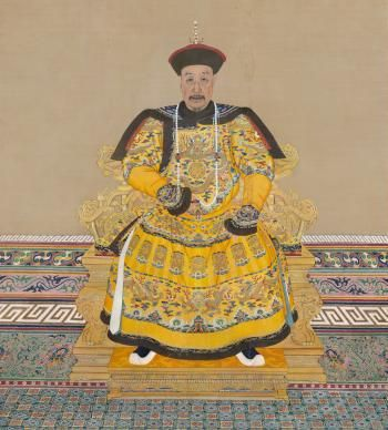 The Qianlong Emperor Detail Artist Unknown Qing