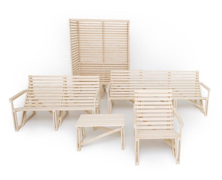 Patioset: Simple Outdoor Furniture With Modern Comfort