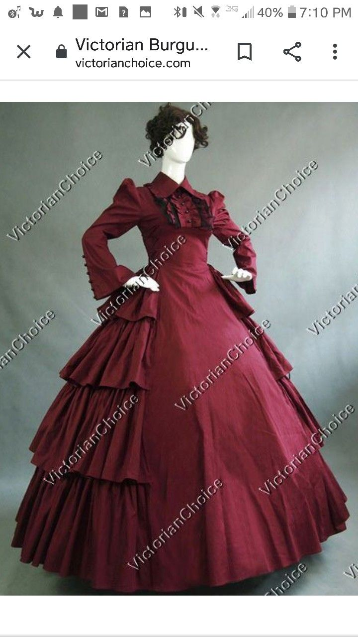 Maybe Formal Dress In 2020 Victorian Costume Edwardian Dress Victorian Gown [ 1280 x 720 Pixel ]