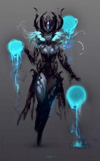 [Fanart] Syndra . League of Legends Tribute on Behance