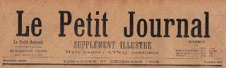 Le Petit Journal - Free Clip Art - The Graphics Fairy
