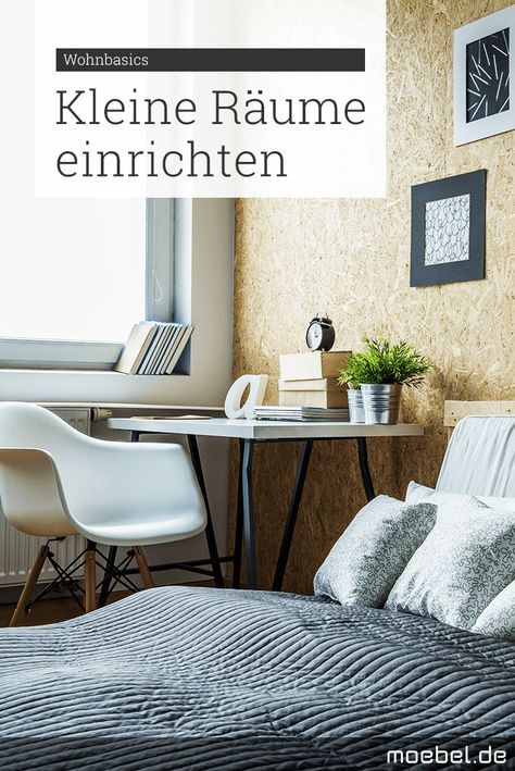 die besten 25 kleine r ume ideen auf pinterest kleine. Black Bedroom Furniture Sets. Home Design Ideas