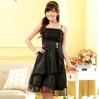 Buy 'JK2 – Rhinestone Sequined Party Dress' with Free Shipping at YesStyle.com.au. Browse and shop for thousands of Asian fashion items from China and more!