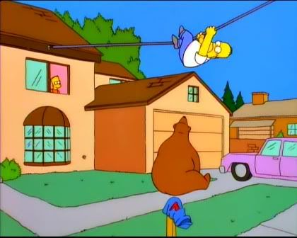 I'm sick of these constant bear attacks. It's like a frickin' country bear jambaroo around here!