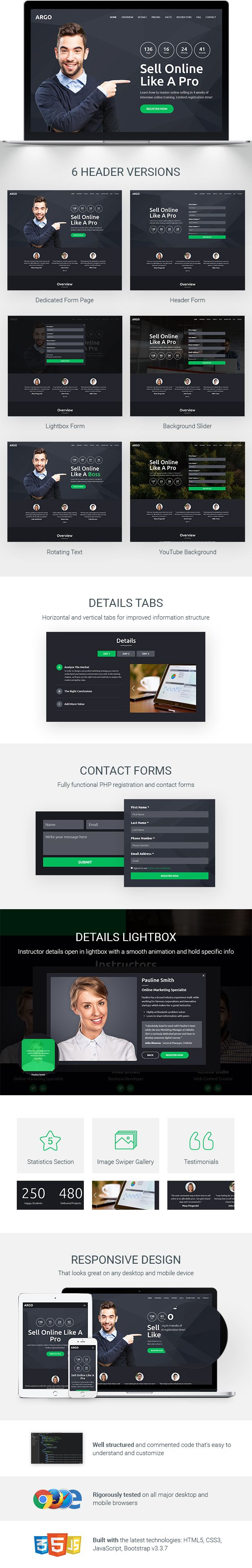 115 best Landing Pages Templates images on Pinterest